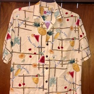 Hilo Hattie Cocktail Aloha Original Hawaiian Shirt